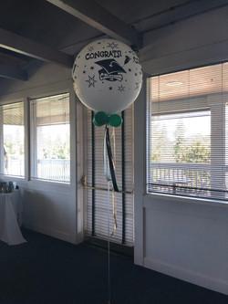 Large 3ft grad balloon