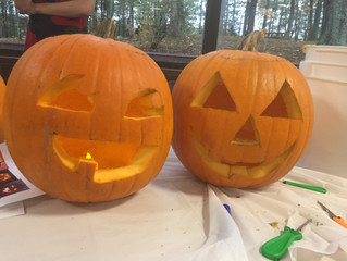 Pumpkin Carving at MAIA!