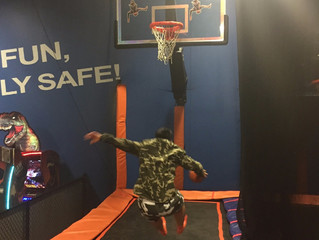 Flying High at Sky Zone!
