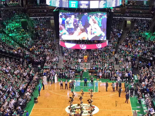 Celtics NBA Game: Opening Night!