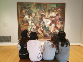 Art Museum Visit in Rhode Island!