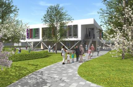 Kindcentrum Meerssen | Start nieuw- en verbouw werkzaamheden