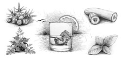 4 Anchors Gin Zutaten