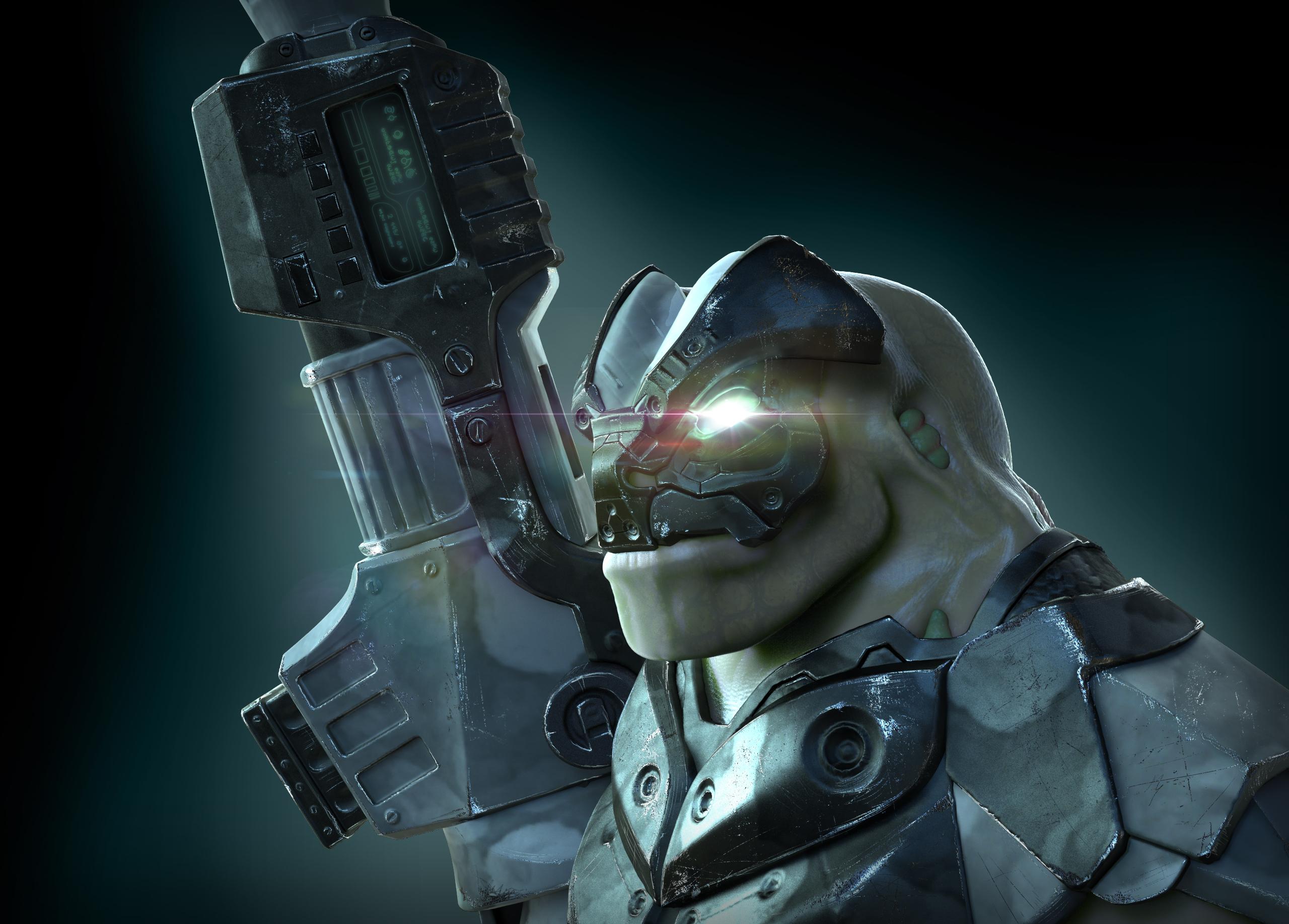 Scifi-Alien-Portrait