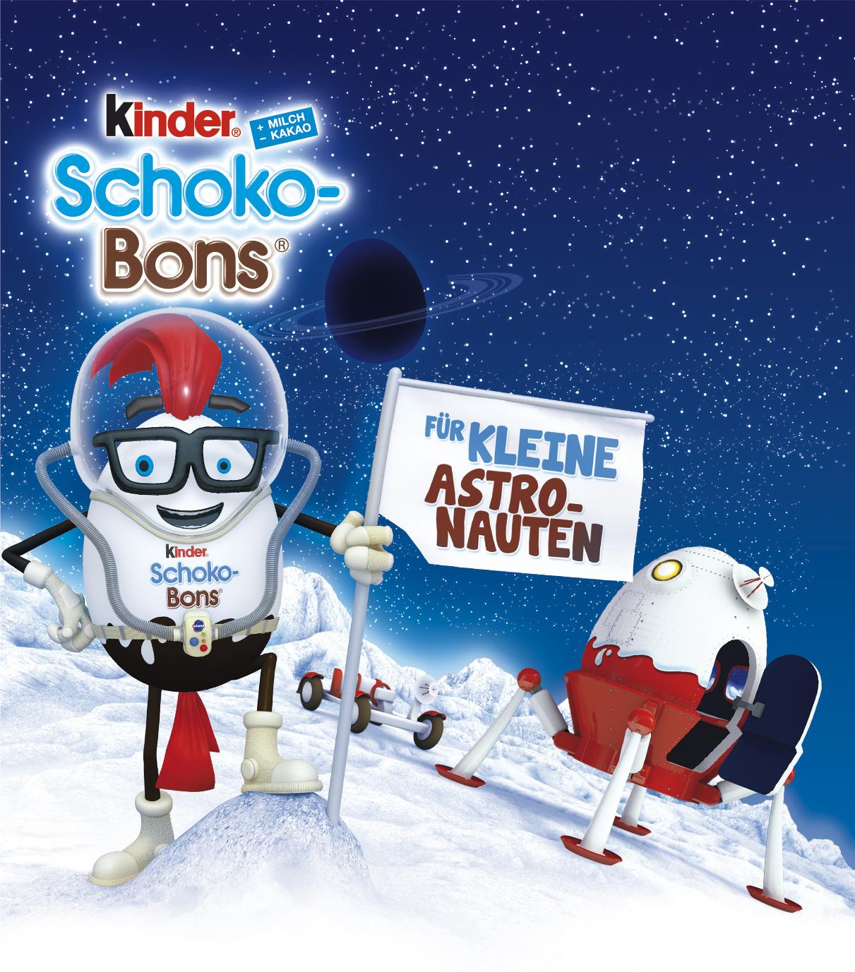 Schokobons 46g Astronaut