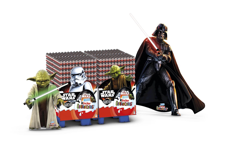 Star Wars Kinder Überraschung