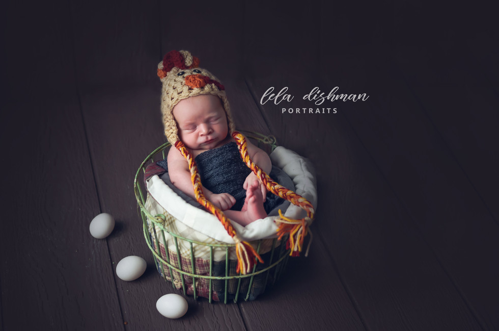 Barrett's Newborn Session {Monticello KY Photographer}