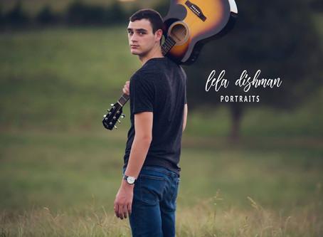 Braydon - Senior 2019 - Monticello KY Photographer~ Lela Dishman Portraits