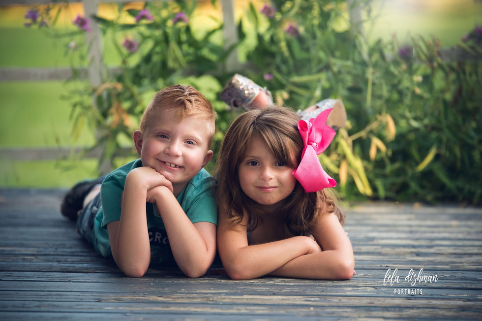 Albertson - Sibling Session - Monticello, Somerset KY Photography