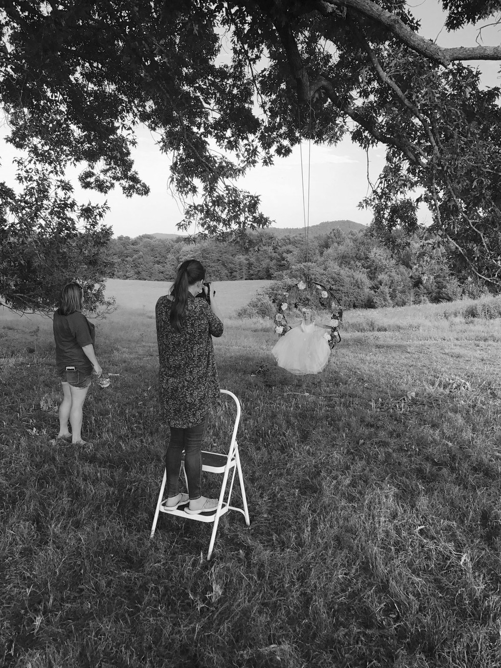 Addison {Behind the scenes of a children's shoot} Monticello KY Photography