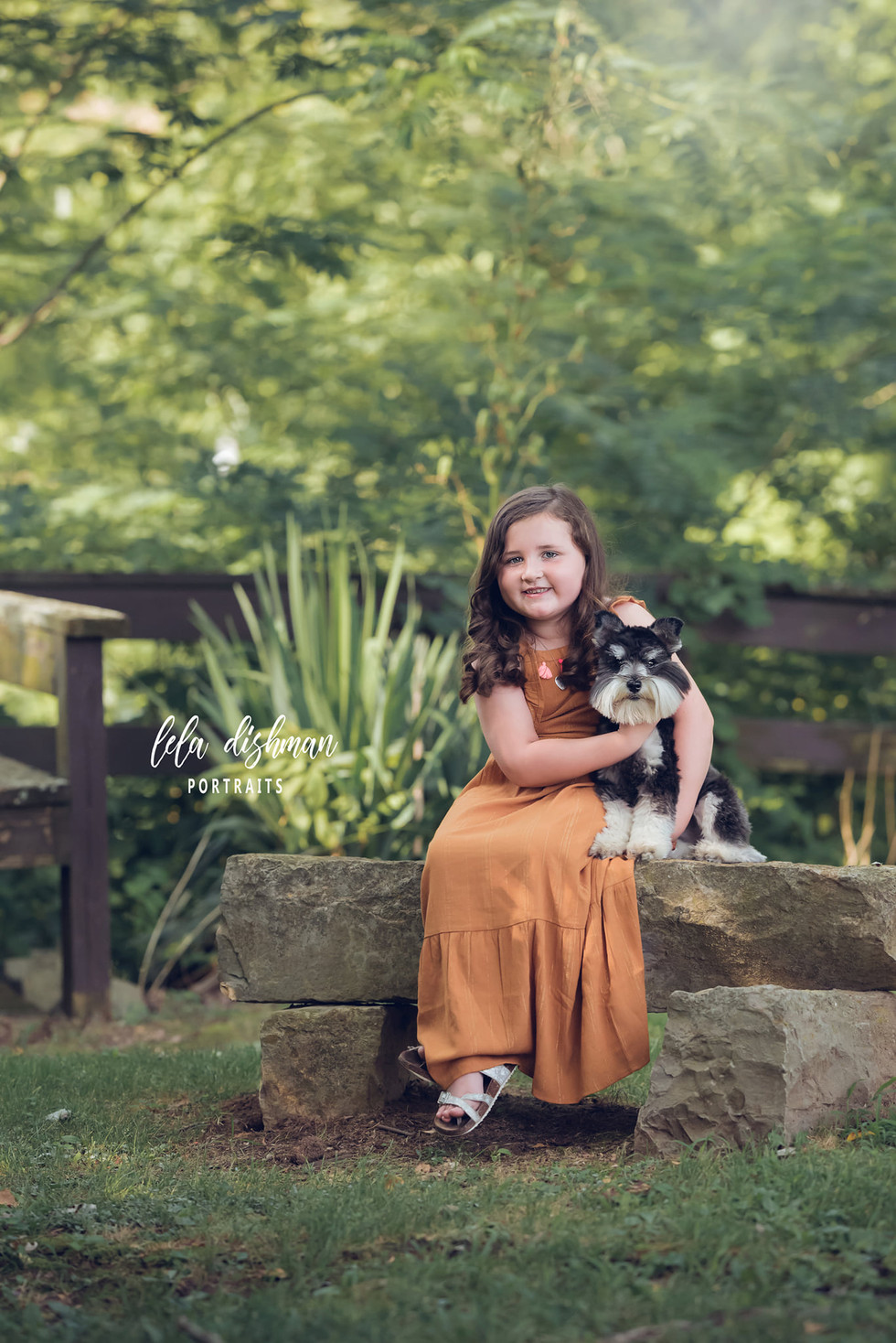 Rielyn is 6 !  Outdoor Photography Session- Child Portraits Kentucky