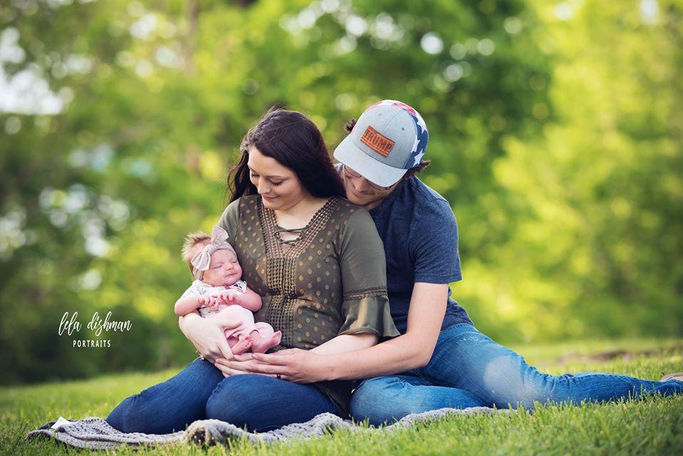 Hadleigh- Outdoor Newborn Session