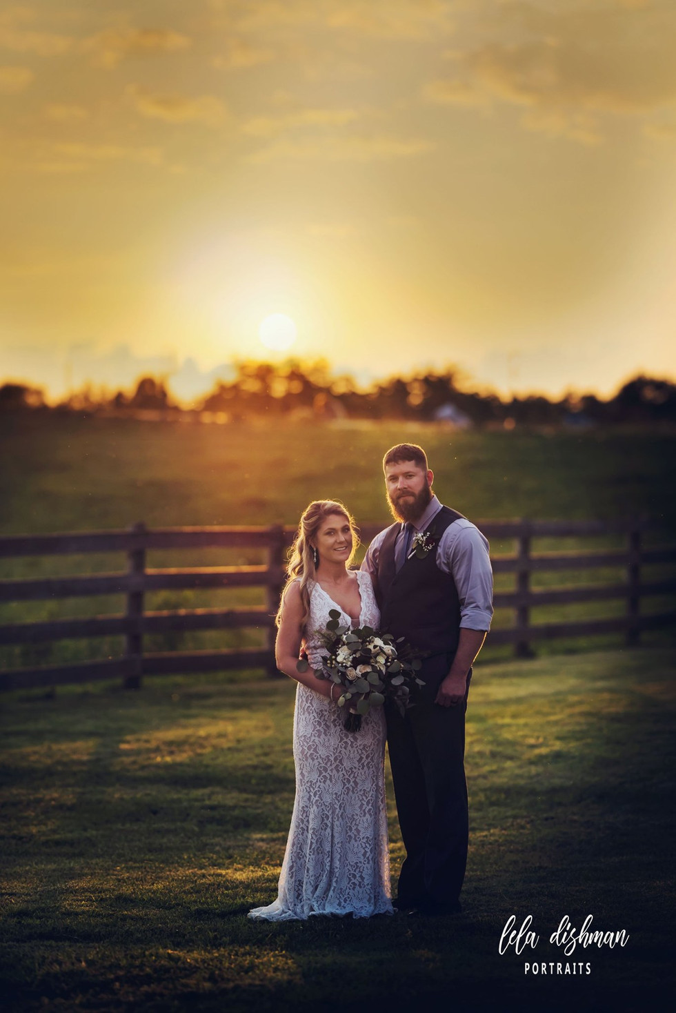 Congratulations Aleigha and Jay ~ Monticello KY Wedding at Richardson's Wedding Barn