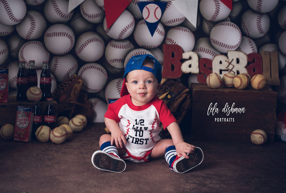 Ryker is 6 months - Monticello, Somerset KY Studio Photography
