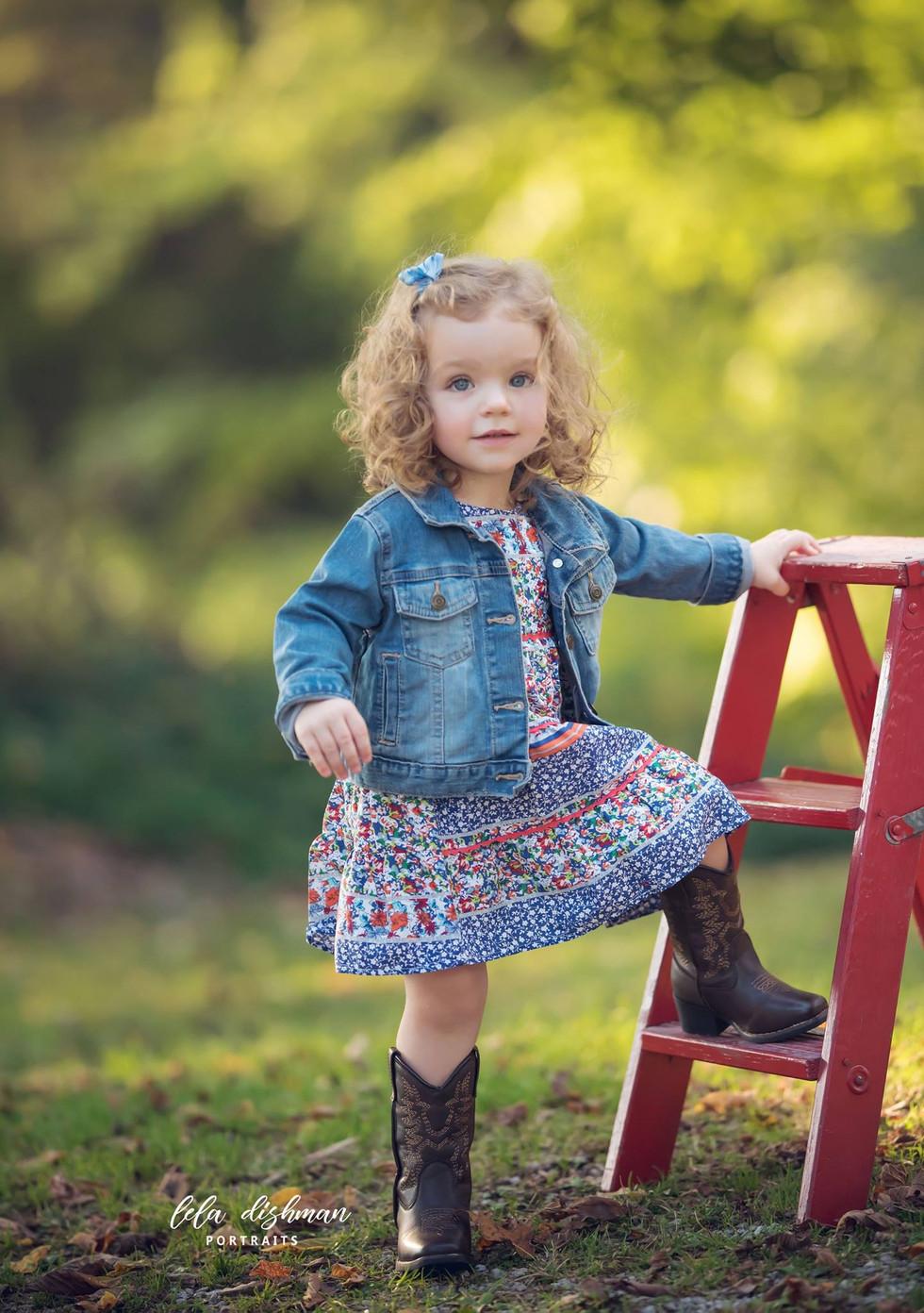 Emma Grace is 2 { KY Children's Portraits Monticello Somerset}