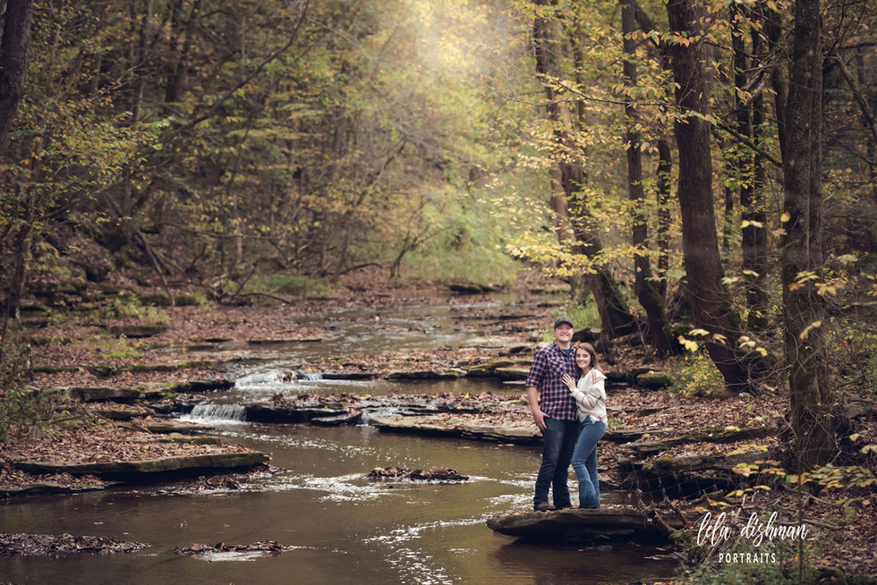 Makenzie and Jase ~ Couple's Portrait Session Albany KY