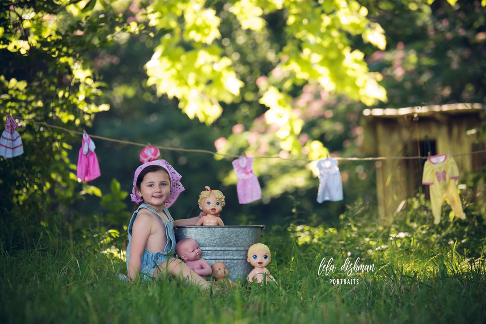 Rielyn is turning 4- Monticello, Somerset KY Portrait Photography