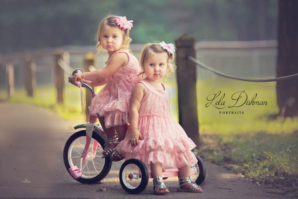 Jenna and Jayla {Kentucky Children's Photographer}