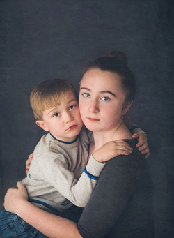 siblings portrait