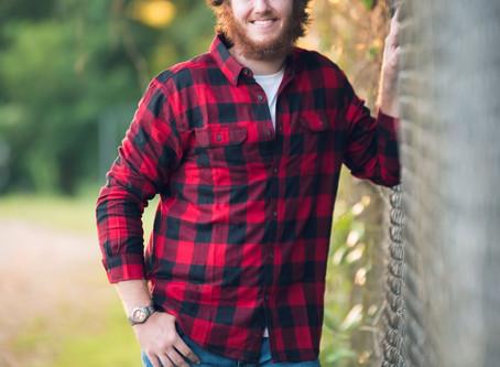 Jacob~ Wayne County High School Senior 2020 - Monticello KY Photographer