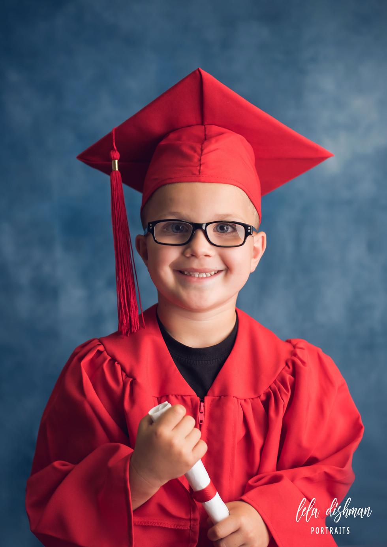 Preschool and Kindergarten Graduates~ Cap and Gown Photography