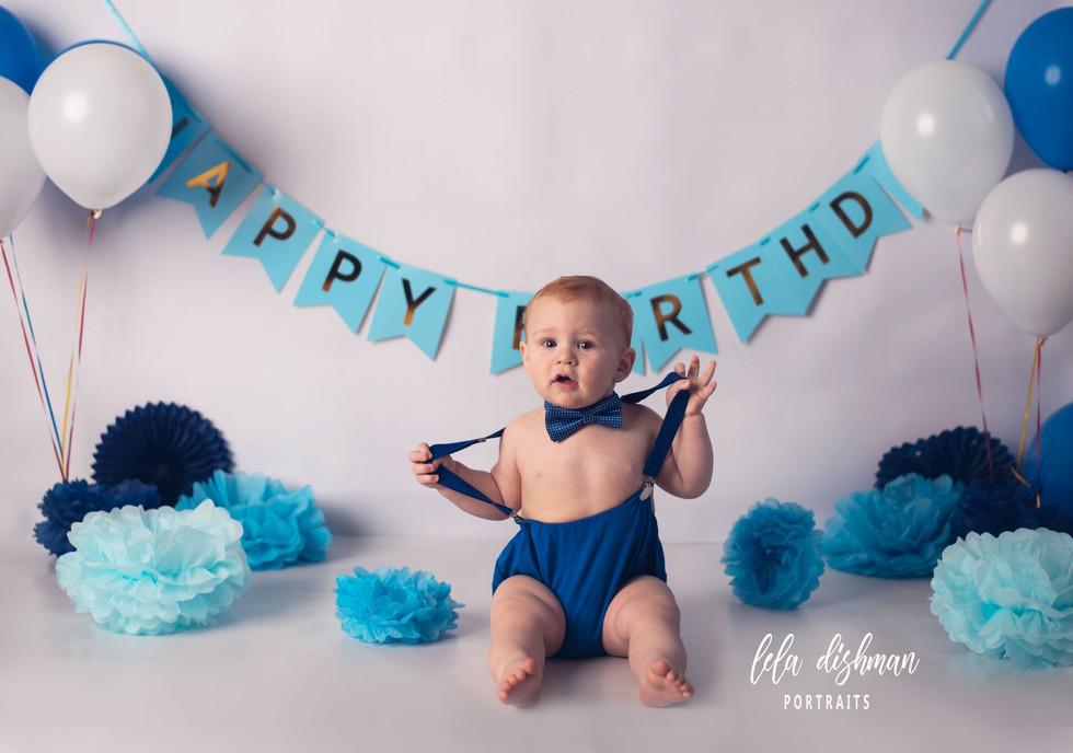 Owen is turning one! Cake Smash Photography- Richmond, Somerset Kentucky