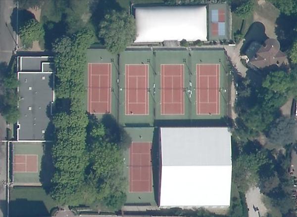 le club de tennis Rhodia vaise
