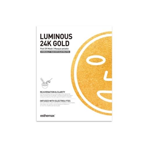 Luminous 24K Gold HydroJelly Mask