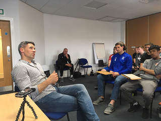 UDA Students Get Up Close and Personal With Premier League Star, Jon Walters.