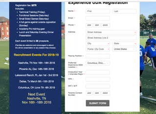 UDA Soccer Announces 2019 Recruitment Dates and Opportunities, Prepares For The Arrival of the 2018