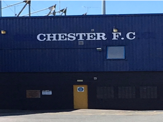 Director of Recruitment, Coach Reilly Meets Staff at Chester FC, England