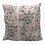 Thumbnail: 100% Cotton Hand blocked cushion Vintage floral 50cm x 50cm