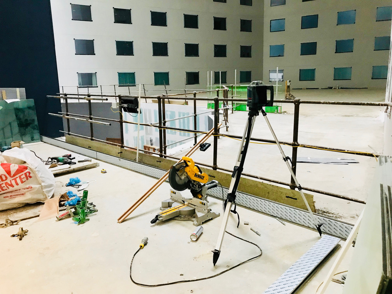 Work In progress at Heathrow Terminal 4, Premier Inn