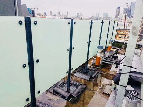 Lift frame and Glass installed by Atlantas