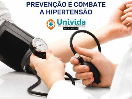 PREVENÇÃO E COMBATE Á HIPERTENSÃO ARTERIAL