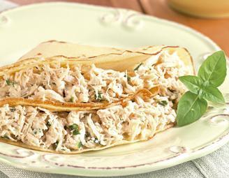 Crepe de Frango, receita nutritiva, saudável e deliciosa!