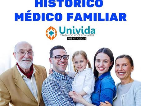 A IMPORTÂNCIA DO HISTÓRICO MÉDICO FAMILIAR