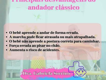 DESVANTAGENS DO ANDADOR CLÁSSICO