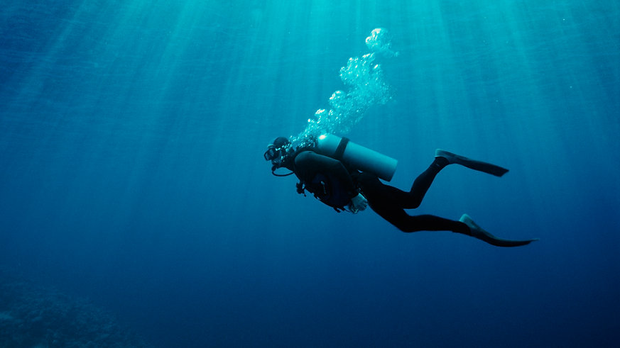 Unterwasser-Tauchen