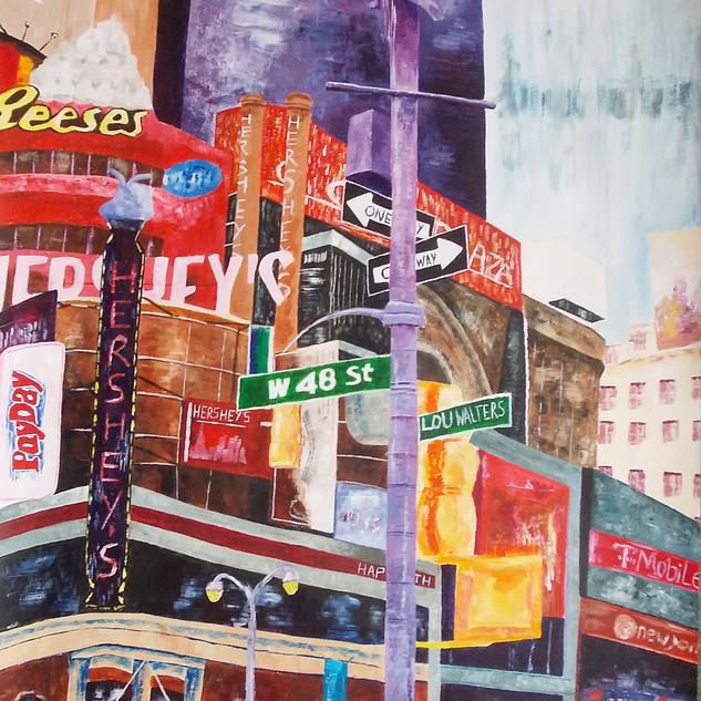 New York triptych 1