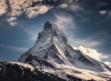 Matterhorn - místo sesuvu