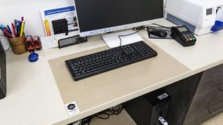 Podložka pod klávesnici