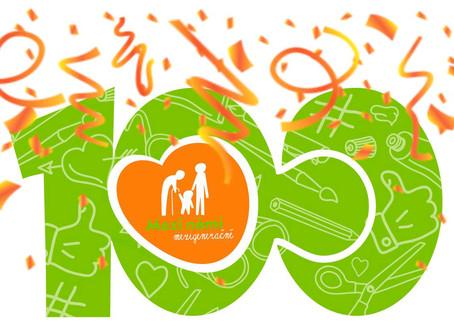 Slavíme 100. mezigenerační skupinu