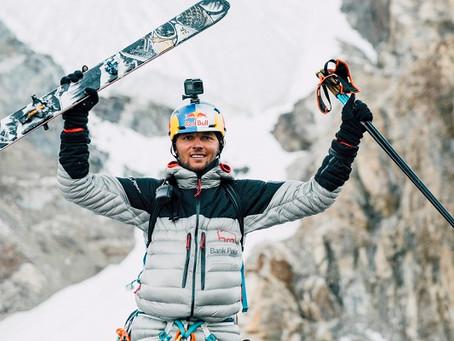 Sjezd K2 na lyžích