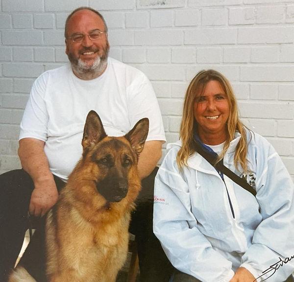 David & Rhoda at the Sieger 2003.jpeg