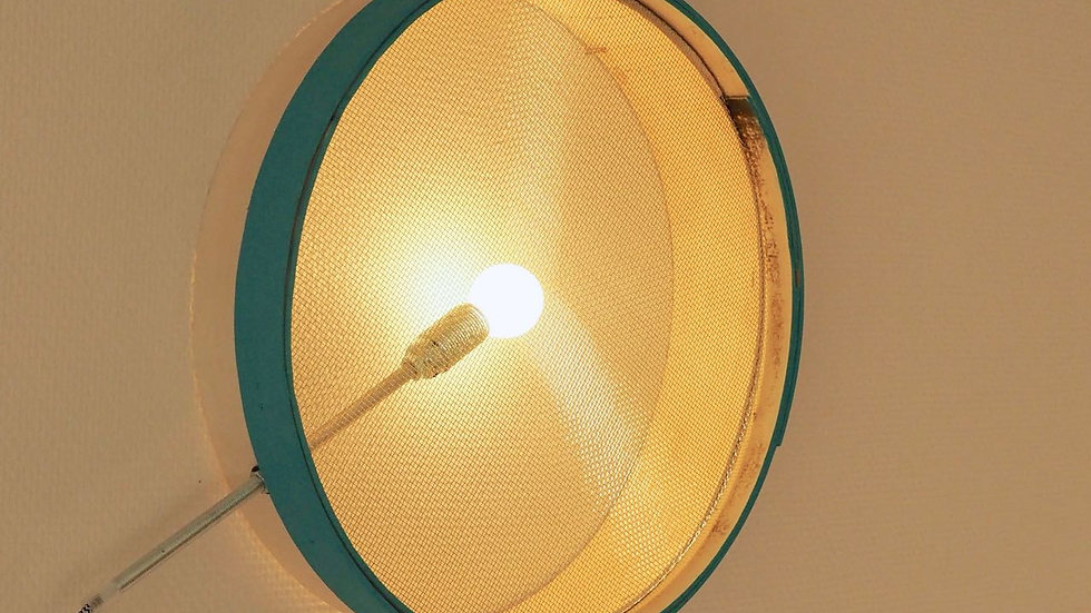 Lampe tamis LIV - bleu canard