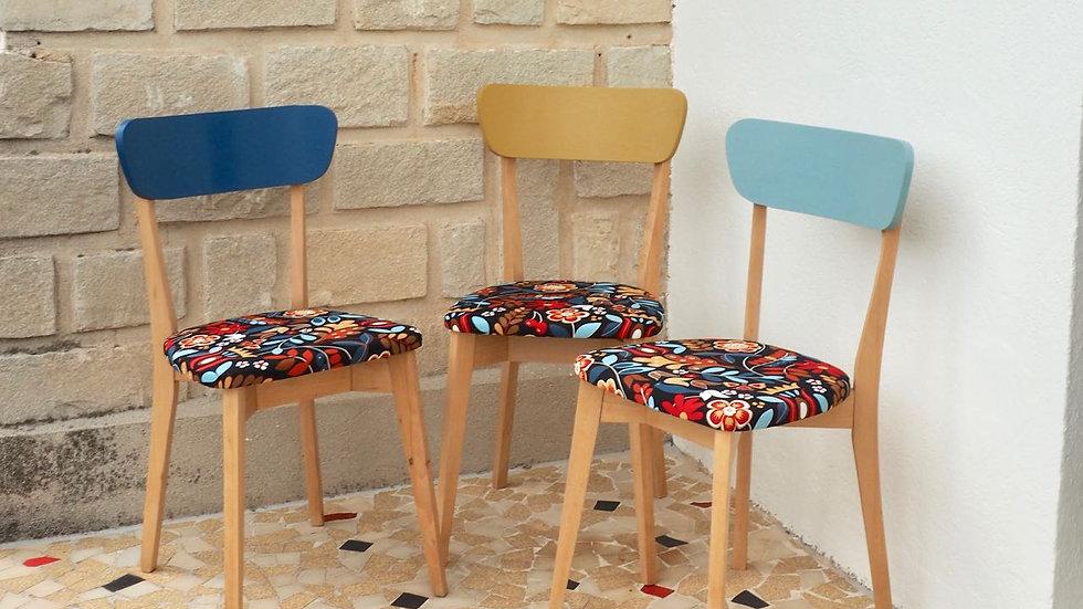 Trio de chaises UNO DUO TRE