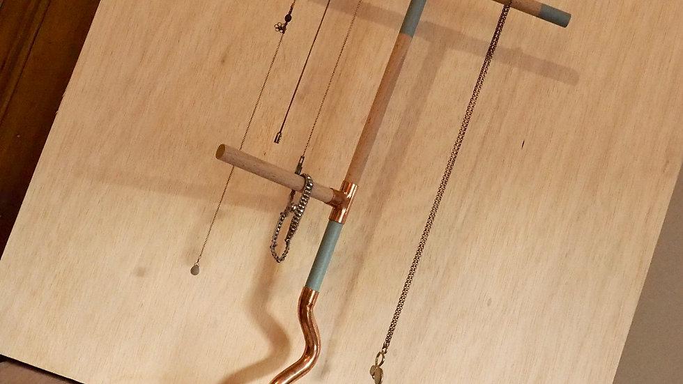 Porte-bijoux Grand LIO - Gris-bleu
