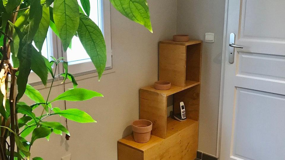 Porte-plantes BOX