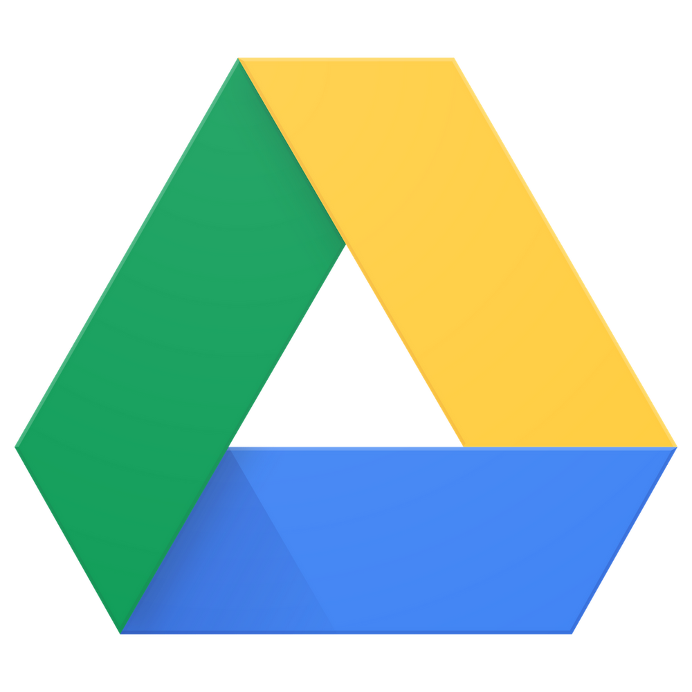 google drive logo storage cloud